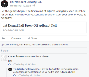 Tin Whiskers Second Brew-Off