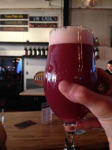 Insight Door County Cherry Saison Feb 14 2015 Story