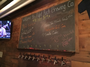 Pulpit Rock Brewing Beer Menu