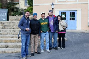 Our friend, T (in the Packers sweater), was one of the first people to pick up New Glarus Golden Ale on Oct. 8. He said only about 40 people showed up for what has proved to be the least popular of all four releases.